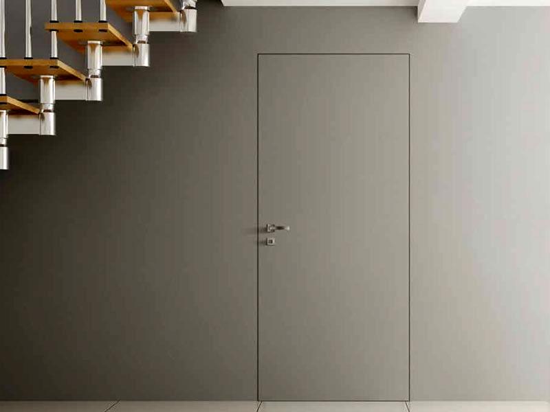 межкомнатные двери скрытого монтажа в квартире - стильный элемент дизайнерского решения